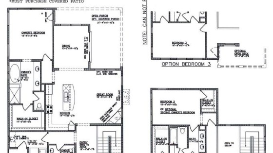 Raylee Homes Floor Plans: King Fisher Floorplan