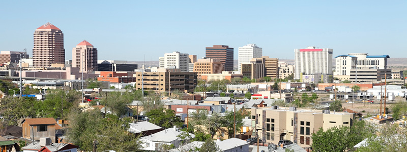 Albuquerque Downtown Skyline