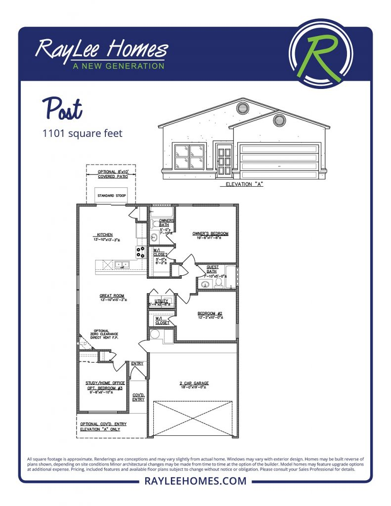 The Post RayLee Floorplan
