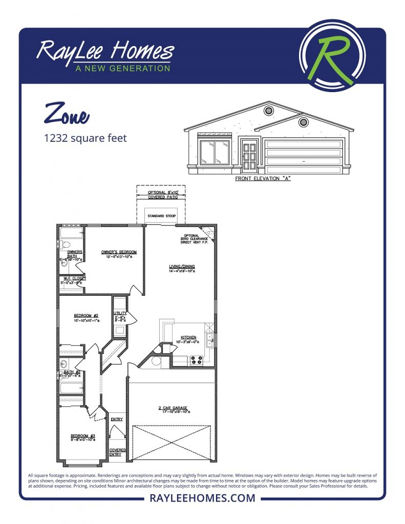 The Zone RayLee Floorplan