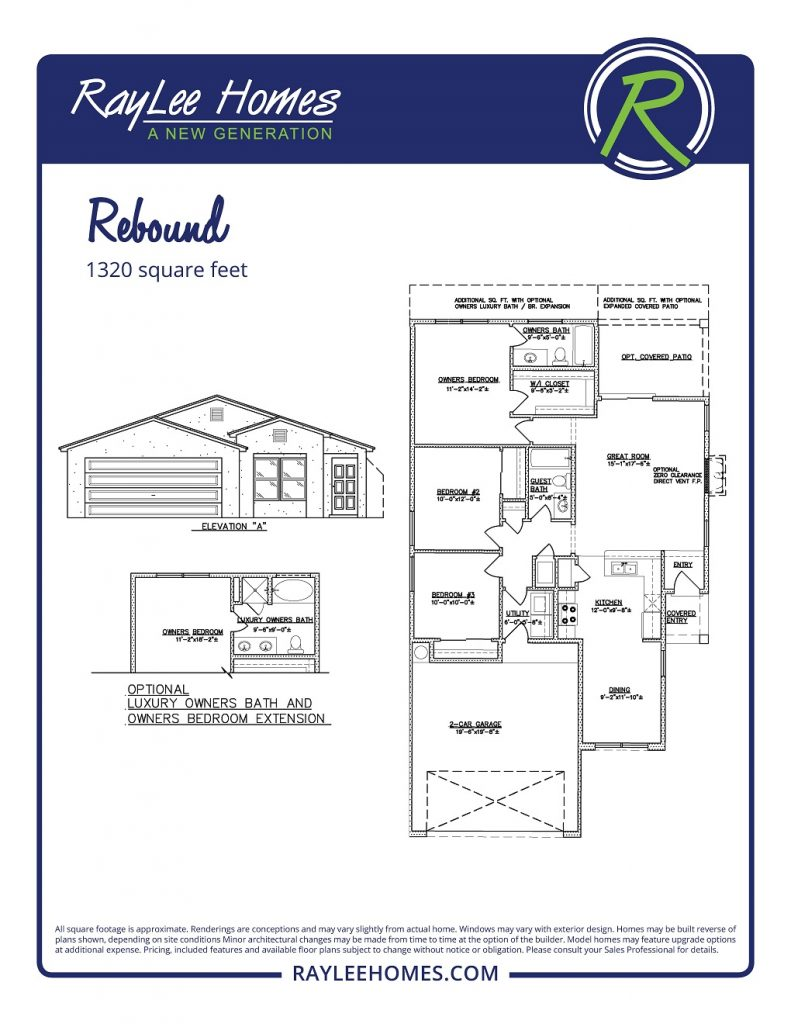 The Rebound RayLee Floorplan