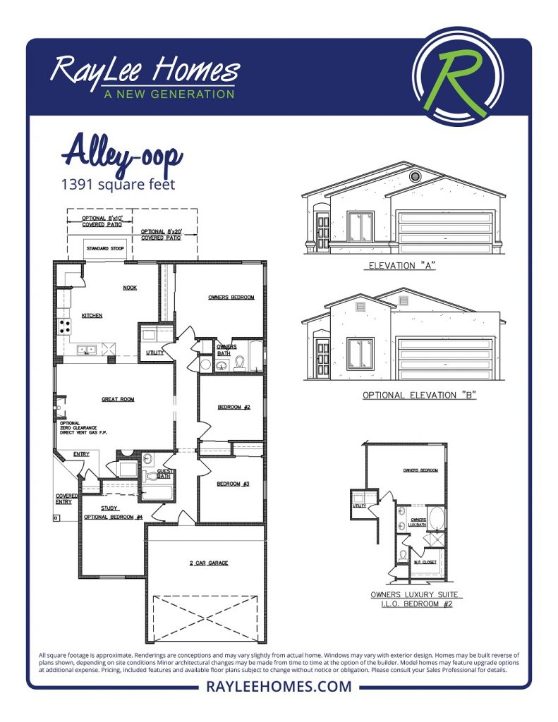 The Alley Oop RayLee Floorplan
