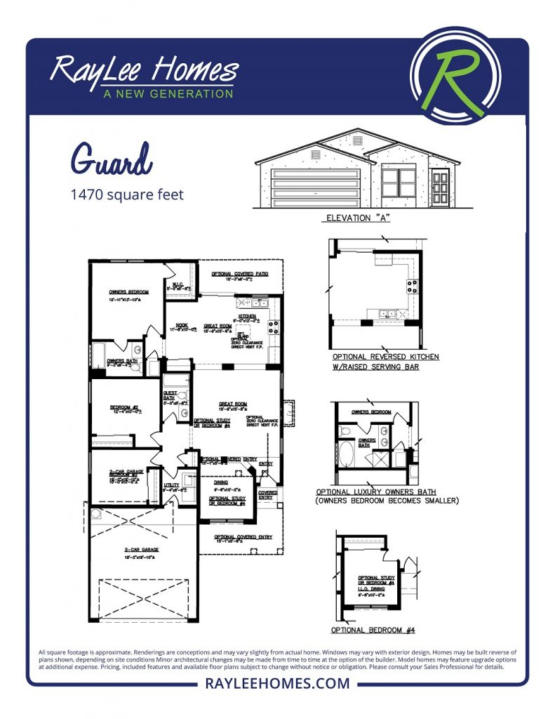 The Guard RayLee Floorplan