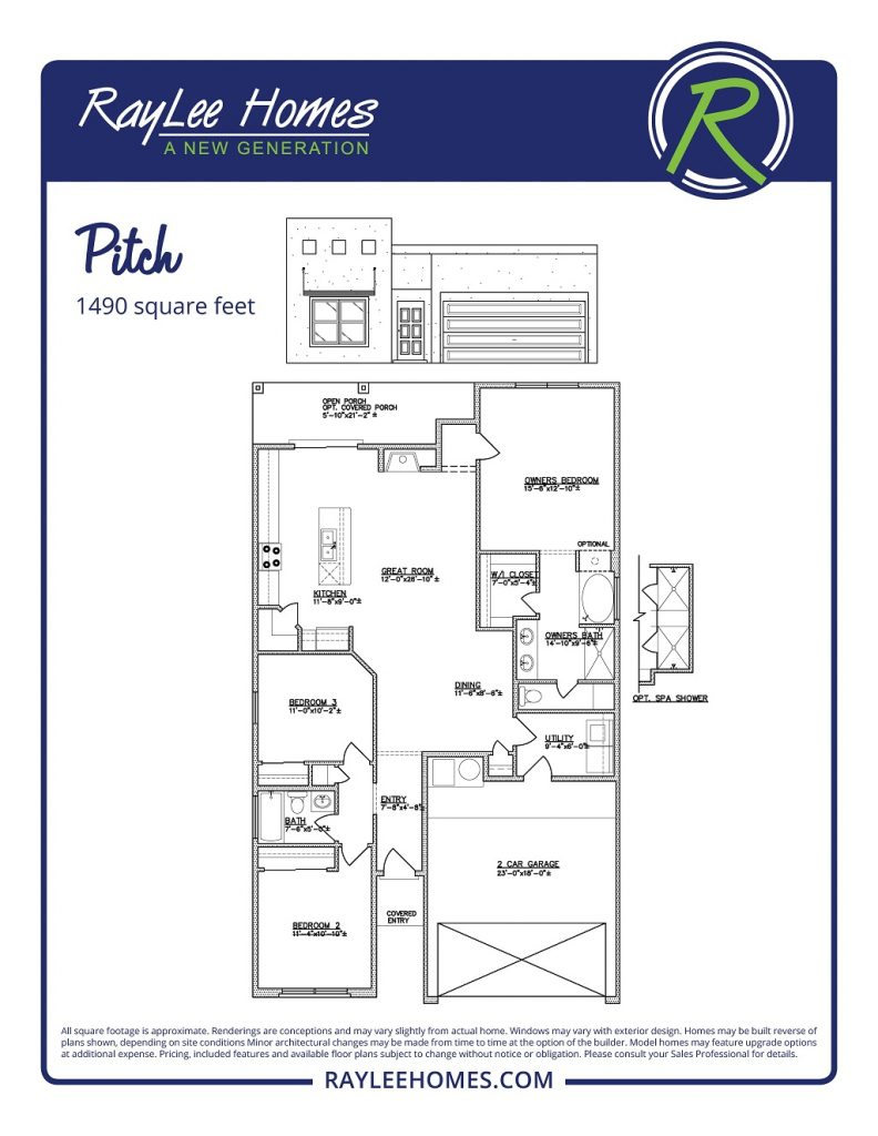 The Pitch RayLee Floorplan