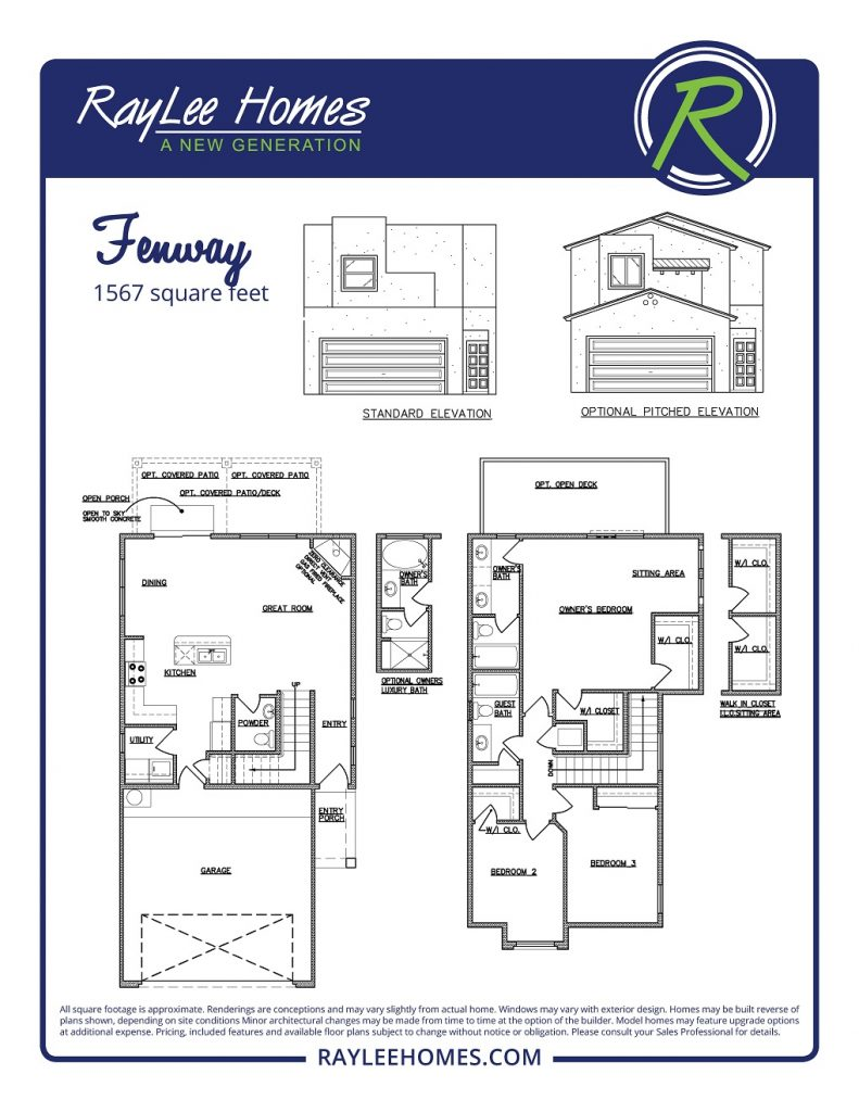 The Fenway RayLee Floorplan