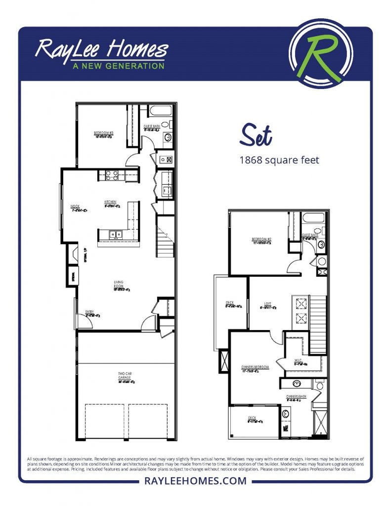 The Set Floorplan - RayLee Homes - Volterra Village