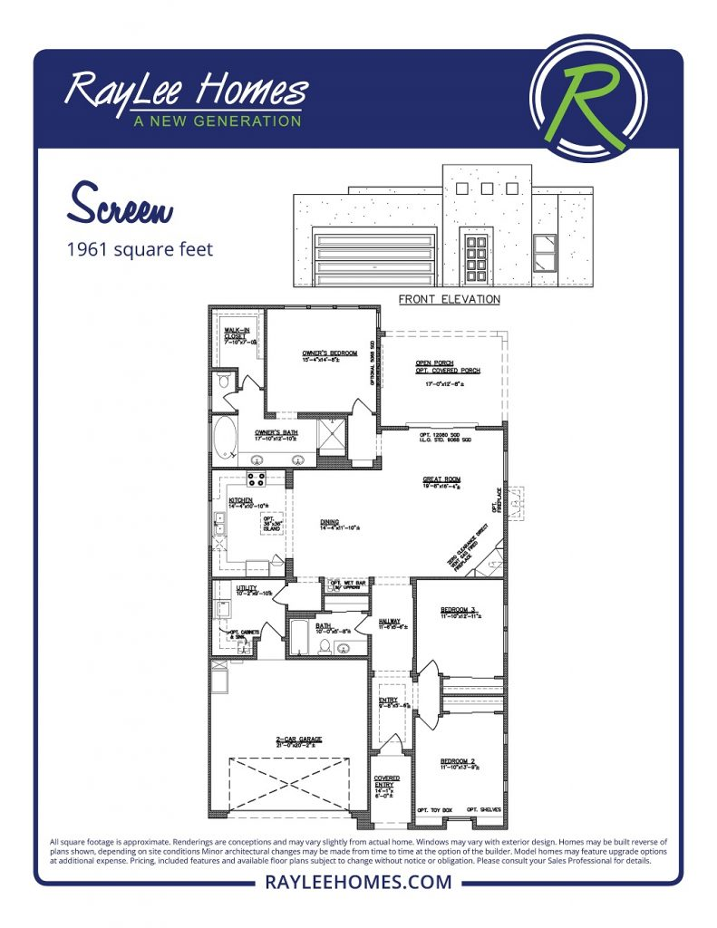 The Screen RayLee Floorplan