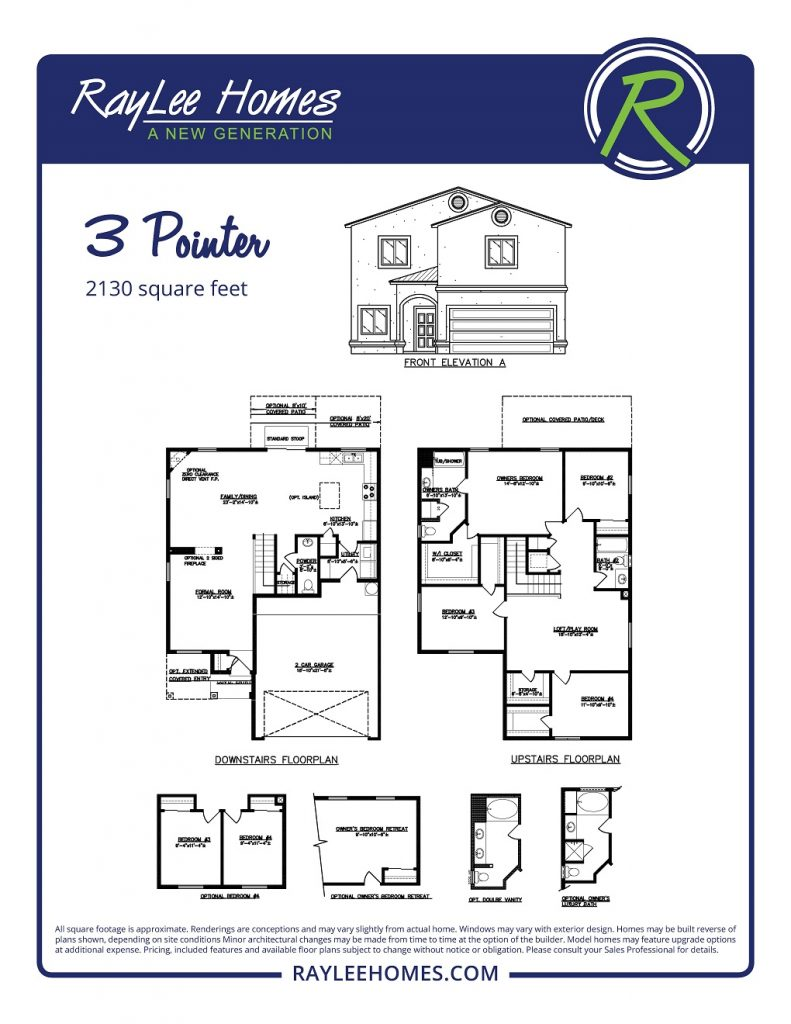 The 3 Pointer RayLee Floorplan