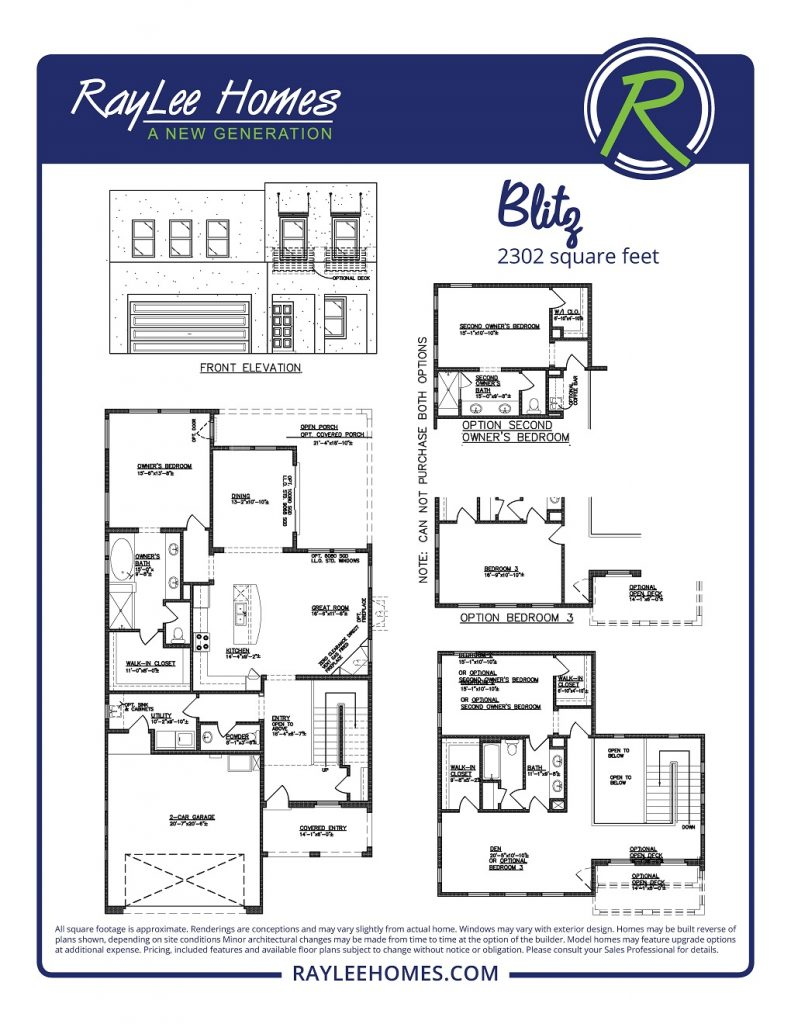 The Blitz RayLee Floorplan