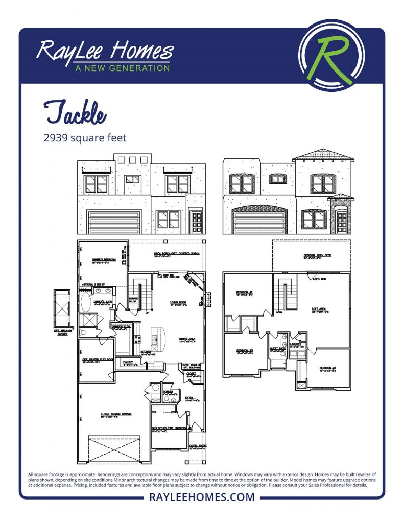 The Tackle RayLee Floorplan