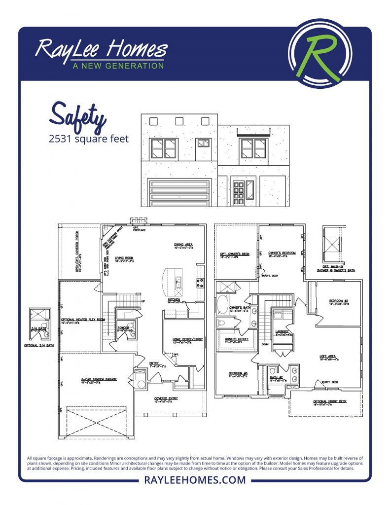 The Safety RayLee Floorplan