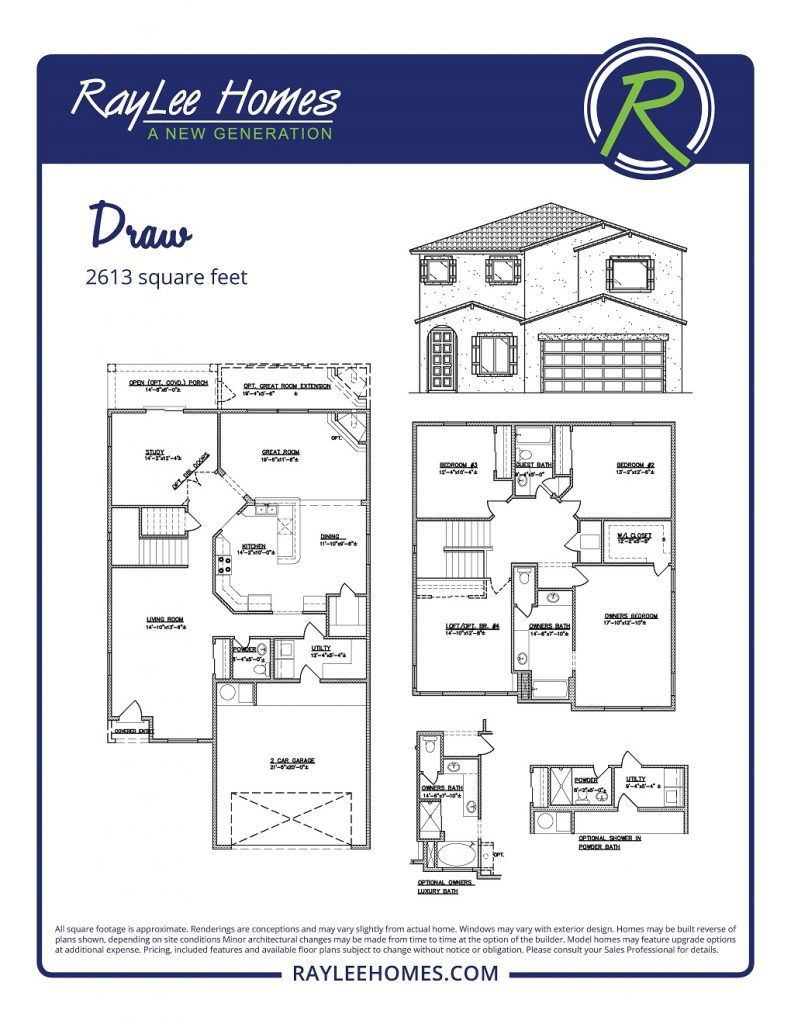 The Draw RayLee Floorplan