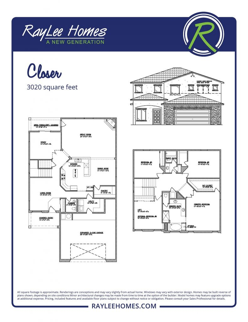 The Closer RayLee Floorplan