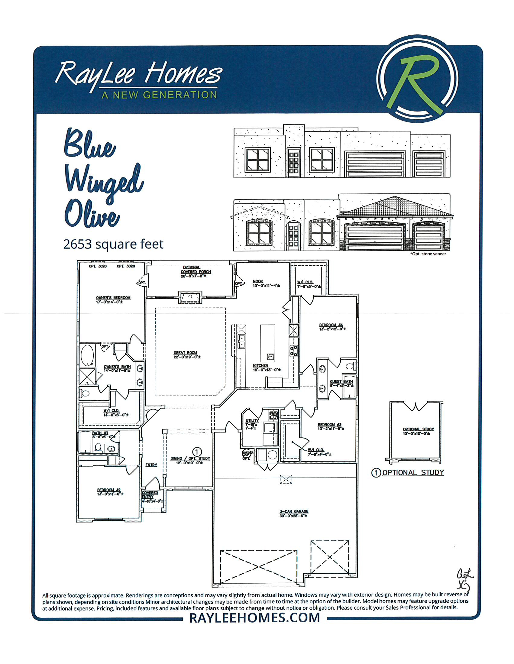 Blue Winged Olive RayLee Floorplan