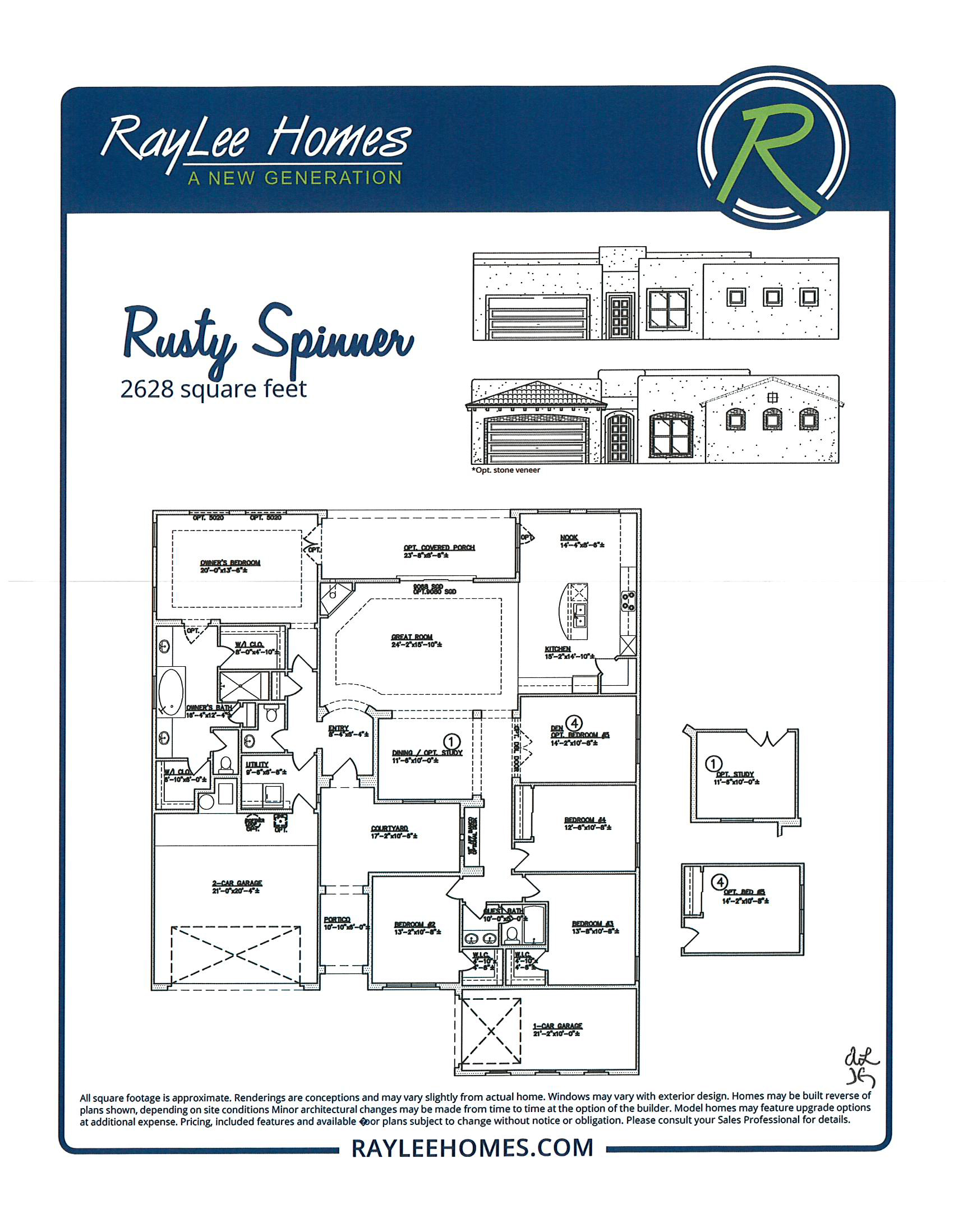 Rusty Spinner RayLee Floorplan