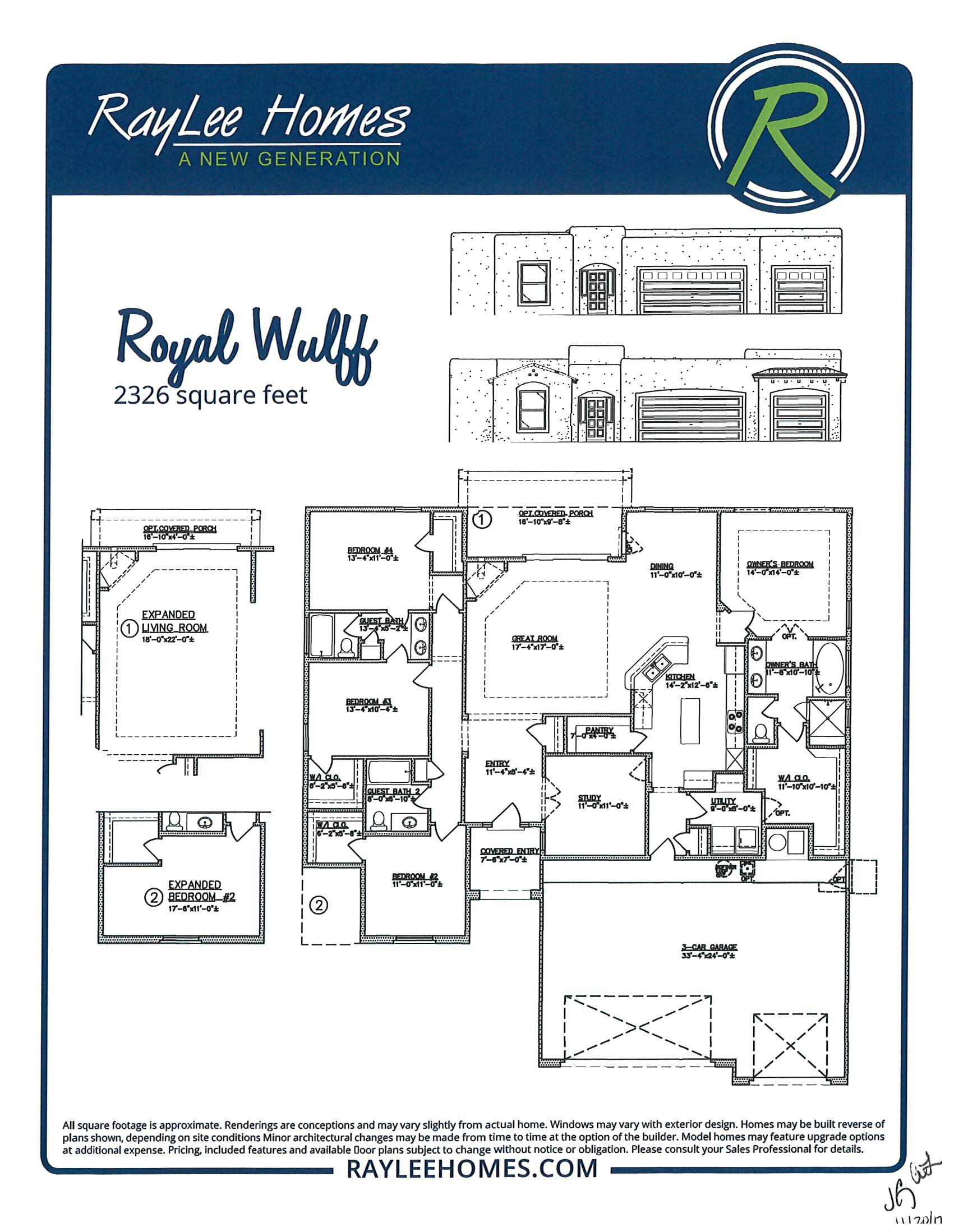 Royal Wulff RayLee Floorplan