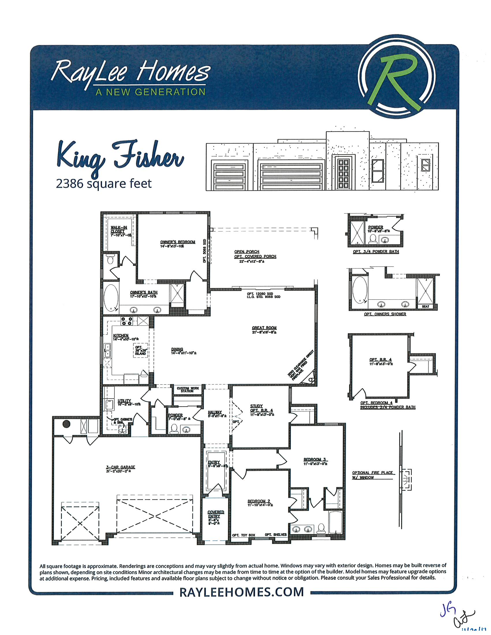 King Fisher RayLee Floorplan