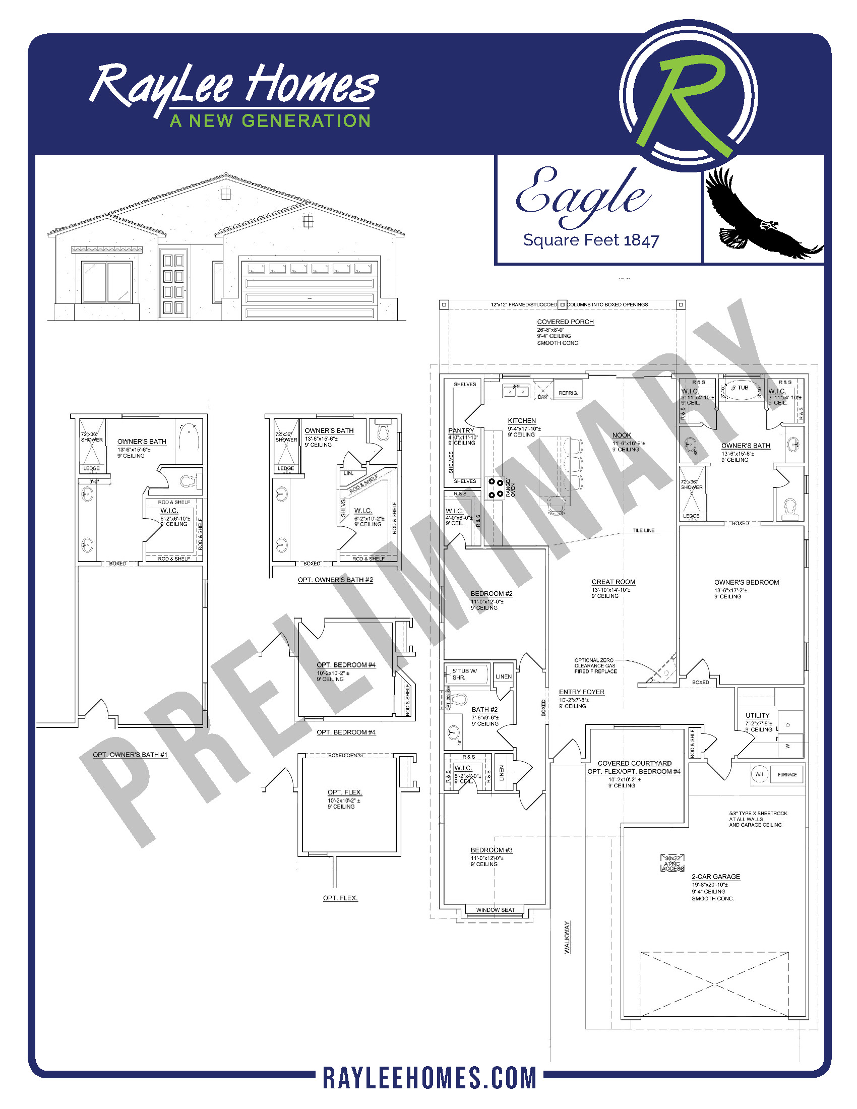 Eagle RayLee Floorplan