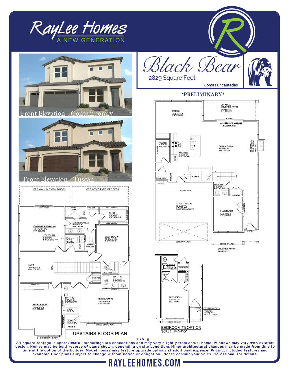 Royal Troon RayLee Floorplan